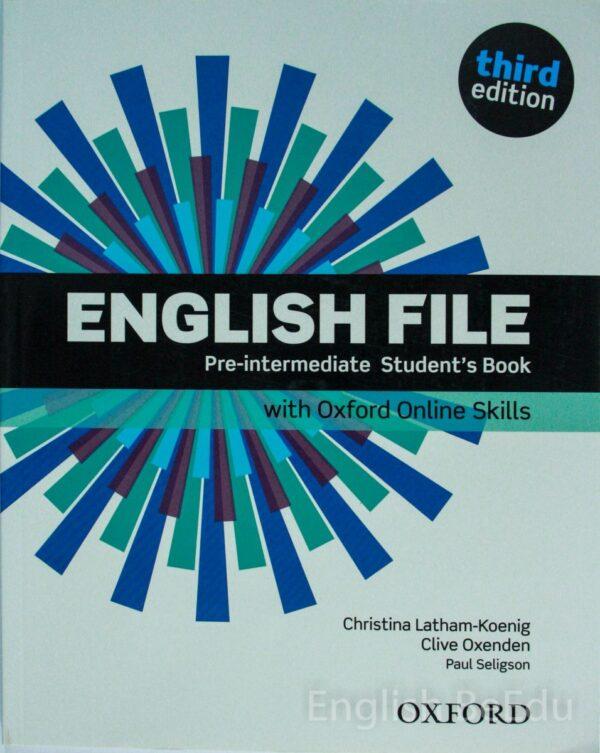 English File Pre-intermediate Student's